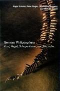 German Philosophers Kant, Hegel, Schopenhauer, Nietzsche