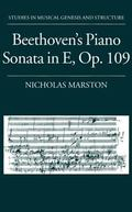 Beethoven's Piano Sonata in E, Op. 109
