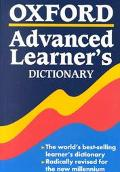 Oxford Advanced Learner's Dictionary : Of Current English