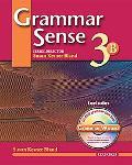 Grammar Sense 3 Student Book 3b With Wizard Cd-rom