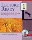 Lecture Ready 1 Student Book with DVD: Strategies for Academic Listening, Note-taking, and D...