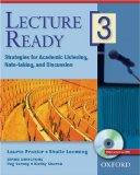Lecture Ready 3 Student Book with DVD: Strategies for Academic Listening, Note-taking, and D...