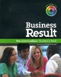 Business Results Pre Intermediate Studen (French Edition)
