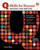 Q: Skills for Success 5 Reading & Writing Student Book with Student Access Code Card