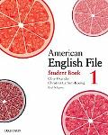 American English File: Level 1 Student Book