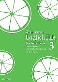 American English File 3 Teachers Book