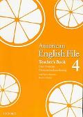American English File 4 Teacher's Book