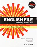 English File: Elementary: Students Book & Itutor & Online Skills Practice 19 Pack