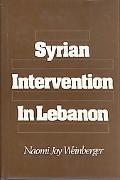 Syrian Intervention in Lebanon The 1975-76 Civil War