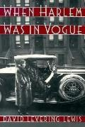 When Harlem Was in Vogue