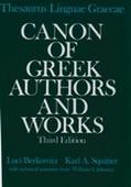 Thesaurus Linguae Graecae: Canon of Greek Authors and Works