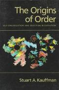 Origins of Order Self-Organization and Selection in Evolution