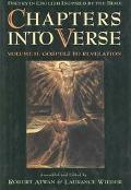 Chapters into Verse Poetry in English Inspired by the Bible  Gospels to Revelation