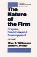 Nature of the Firm Origins, Evolution, and Development