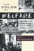 Color of Welfare How Racism Undermined the War on Poverty