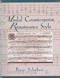 Modal Counterpoint, Renaissance Style