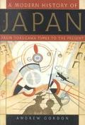 Modern History of Japan From Tokugawa Times to the Present