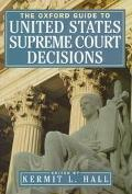 Oxford Guide to United States Supreme Court Decisions