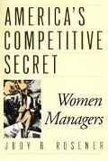 America's Competitive Secret Women Managers