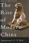 Rise of Modern China
