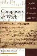 Composers at Work The Craft of Musical Composition 1450-1600