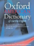 Oxford American Dictionary of Current English