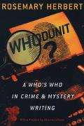Who's Who in Crime & Mystery Writing