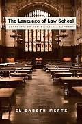 Language of Law School Learning to