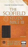 Scofield Study Bible III English Standard Version, Black/Acorn, Bonded Leather, Basketweave
