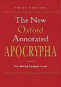 New Oxford Annotated Apocrypha New Revised Standard Version