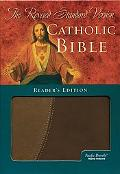 Holy Bible Revised Standard Version Catholic Edition, Brown/tan Pacific Duvelle, Index Reade...