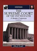 Supreme Court of the United States A Student Companion