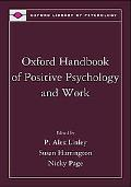 Oxford Handbook of Positive Psychology and Work (Oxford Library of Psychology)