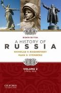 A History of Russia since 1855 - Volume 2