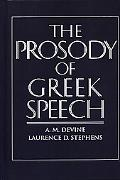 Prosody of Greek Speech