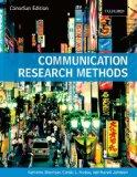 Communication Research Methods Canadian Edition