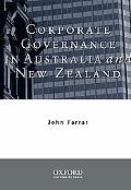 Corporate Governance in Australia and New Zealand