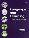 Language and Learning An Introduction for Teaching