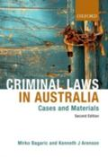 Criminal Laws in Australia: Cases and Materials