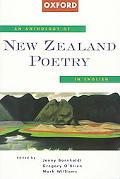 Anthology of New Zealand Poetry in English