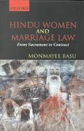 Hindu Women and Marriage Law