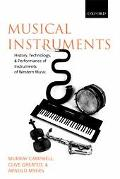 Musical Instruments History, Technology and Performance of Instruments of Western Music
