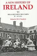New History of Ireland Ireland Under the Union, II - 1870-1921