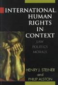 International Human Rights in Context