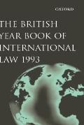 British Year Book of International Law 1993