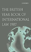British Yearbook of International Law 1987
