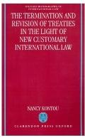 Termination and Revision of Treaties in the Light of New Customary International Law