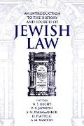 Introduction to the History and Sources of Jewish Law