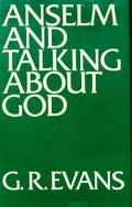 Anselm and Talking about God