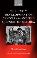 Early Development of Canon Law and the Council of Serdica